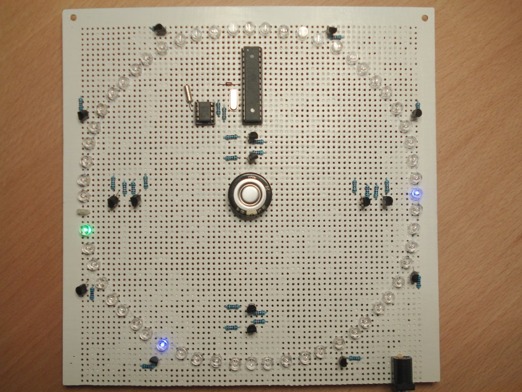 LED Matrix Clock